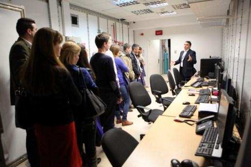 Боровчанин са стипендистима Фонда за младе таленте на радионици МУП-а