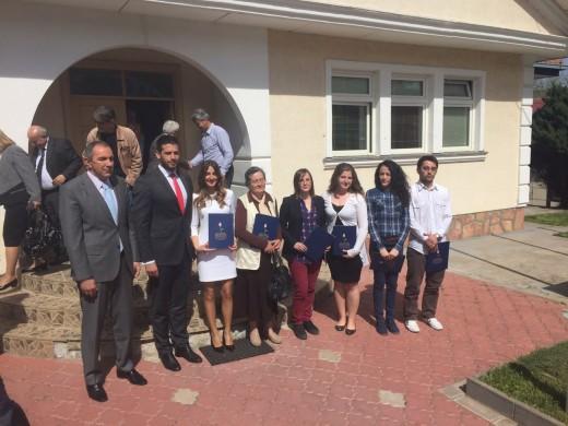 Udovičić dodelio ugovore o stipendiranju u Kosovskoj Mitrovici