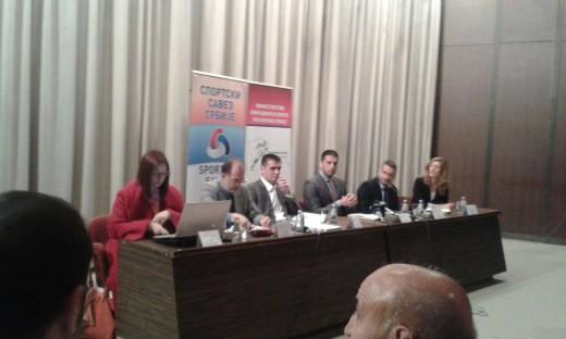 Udovičić: Novim zakonom o sportu podižemo lestvicu stepen više