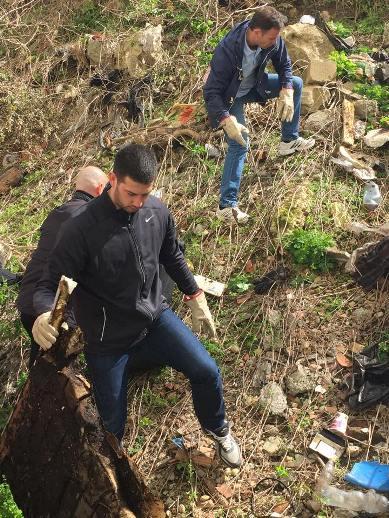 Udovičić i Mali u akciji prolećnog čišćenja Beograda