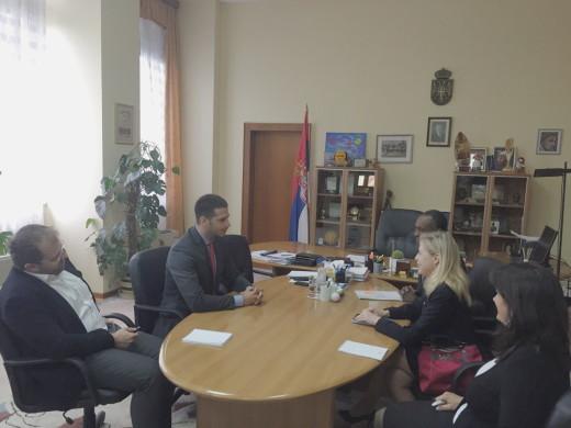 Министар Удовичић на састанку са регионалном директорком УНИЦЕФ-а