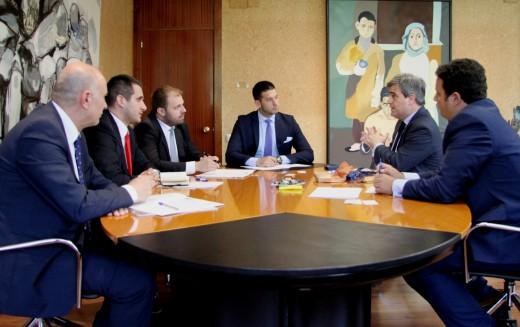 Ministar Udovičić u poseti Španiji