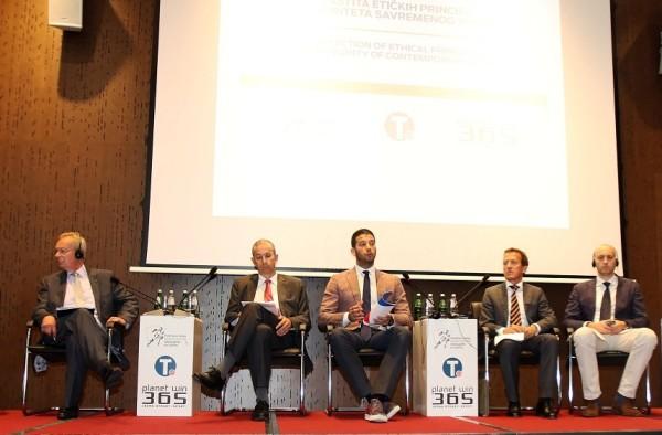 """Udovičić otvorio konferenciju pod nazivom """"Zaštita etičkih principa i integriteta savremenog sporta"""""""