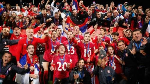 Удовичић честитао младим фудбалерима: Исписали сте нове странице историје српског фудбала!
