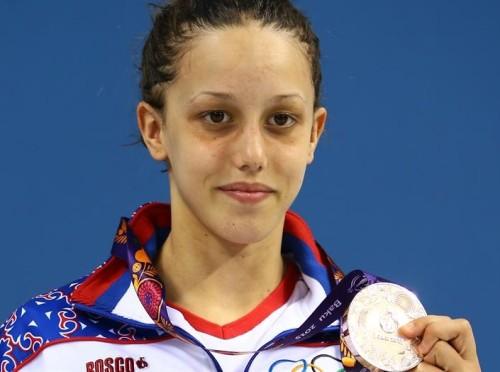 Удовичић честитао Ањи Цревар на освојеној медаљи