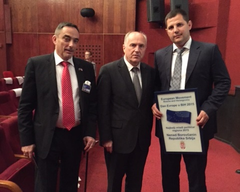 Боровчанин изабран за европског младог политичара региона