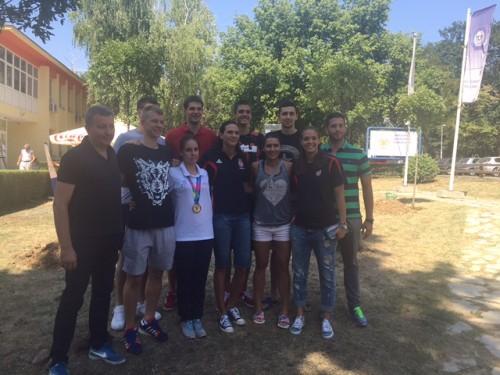Udovičić i sportisti zasadili svoje drveće u Parku šampiona