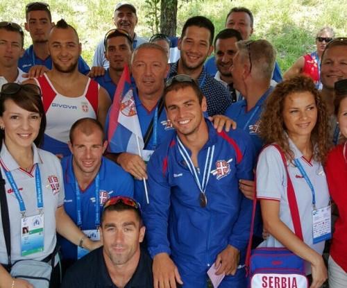 Честитка Удовичића кајакашима и кајакашицама на освојеним медаљама у Милану