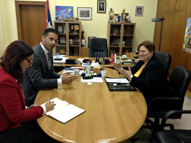 Udovičić se sastao sa novom ambasadorkom Slovačke