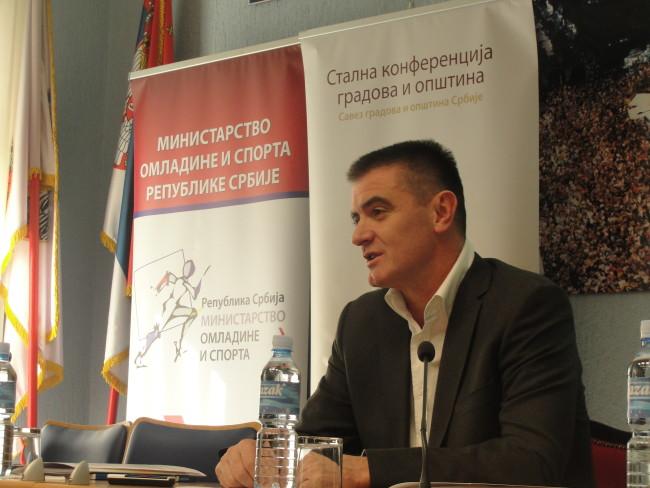"""Peruničić otvorio obuku """"Planiranje i sprovođenje Programa razvoja sporta u jedinicama lokalne samouprave"""""""