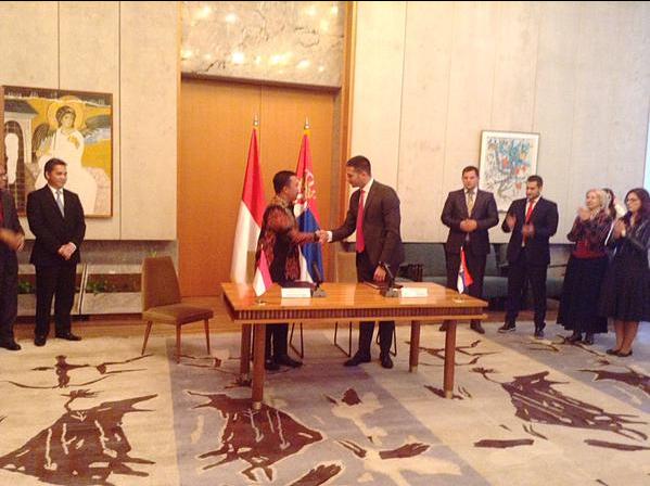 Потписан Меморандум о разумевању у области спорта и омладине између Србије и Индонезије