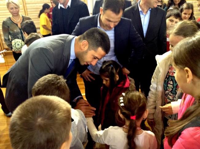 Udovičić i Mali svečano otvorili fiskulturnu salu za učenike oštećenog vida