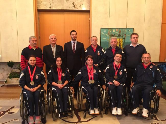 Udovičić primio paraolimpijsku reprezentaciju u stonom tenisu