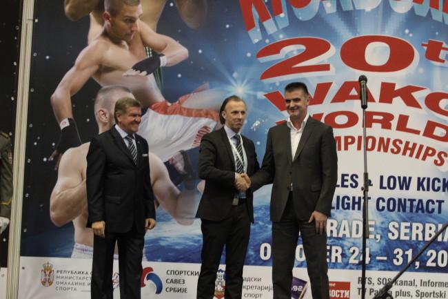 Перуничић отворио Светско првенство у кик боксу