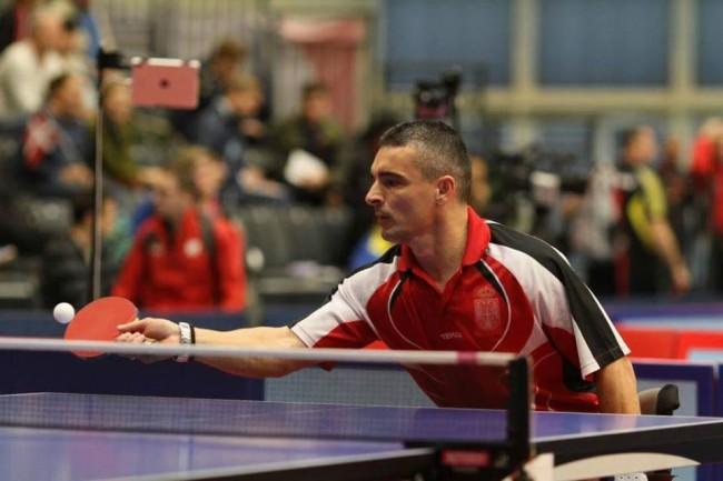 Paraolimpijska stonoteniska reprezentacija osvojila tri medalje na EP