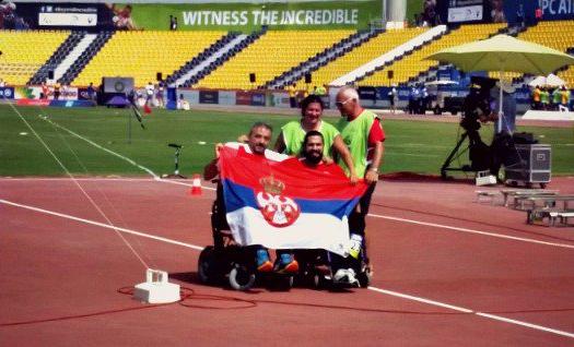 Удовичић честитао параолимпијцима освајање медаља на СП у ателтици