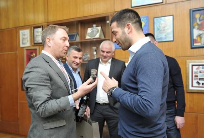 Udovičić sa kolegom iz Gruzije