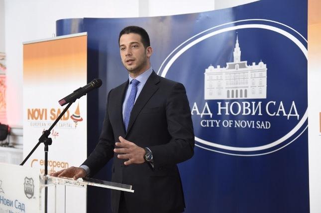 Удовичић подржао кандидатуру Новог Сада за Европску престоницу младих 2019.
