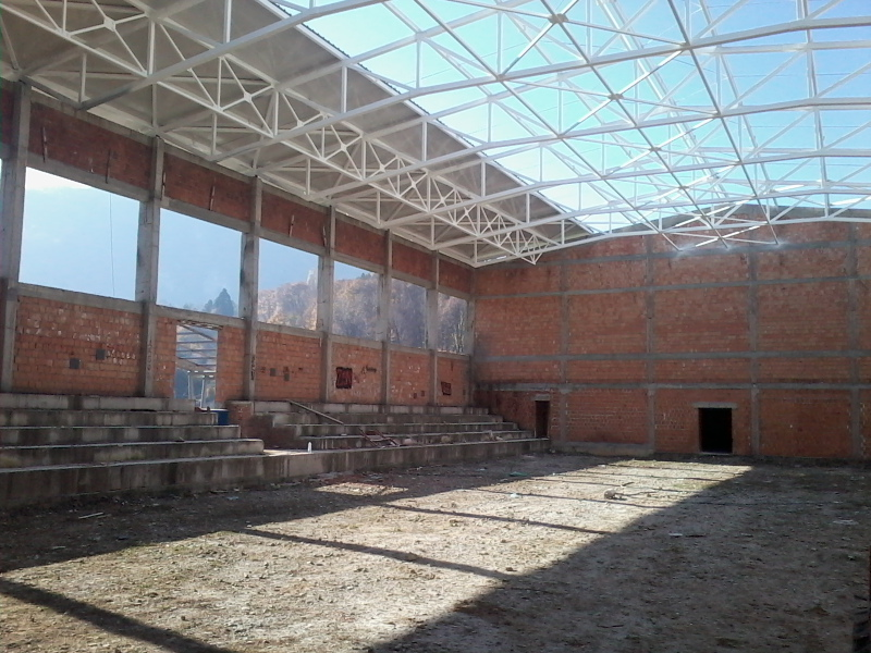 Tipska sportska hala za školski sport u Užicu, Krčagovo