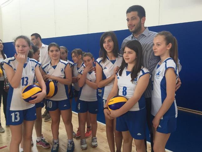 Удовичић отворио спортску халу у Старој Пазови