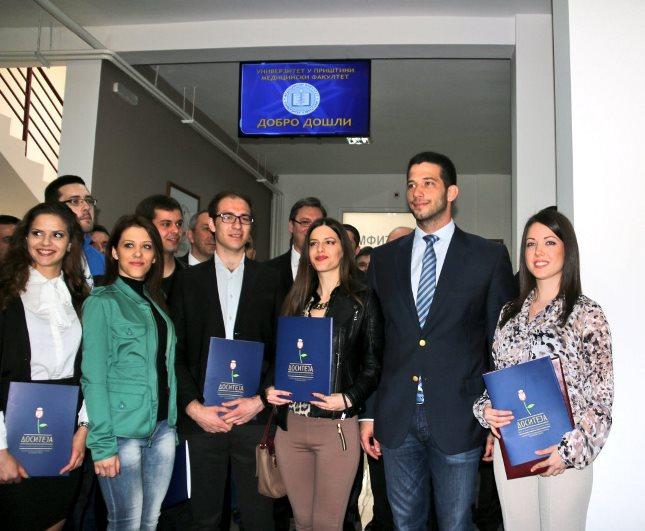 Udovičić uručio stipendije studentima u Kosovskoj Mitrovici