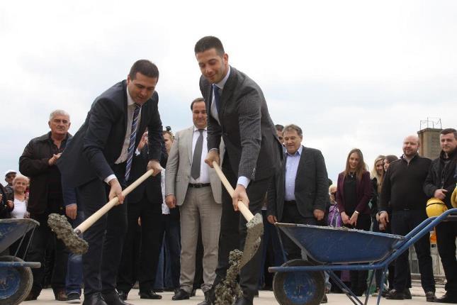 Почели радови на изградњи Националног ватерполо тренажног центра
