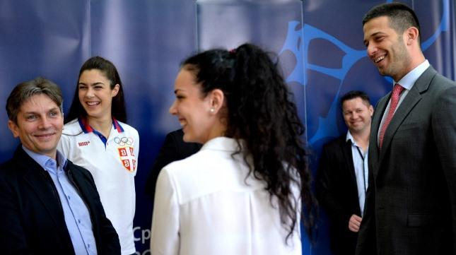 Udovičić primio srpske reprezentativce u tekvondou