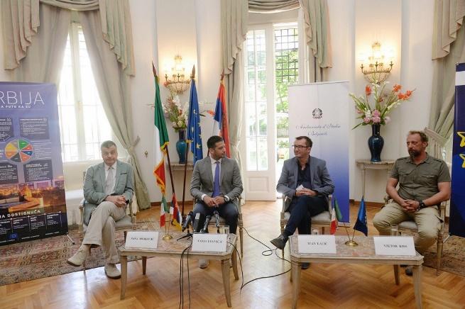 Udovičić prisustvovao Danu otvorenih vrata EU u Ambasadi Italije