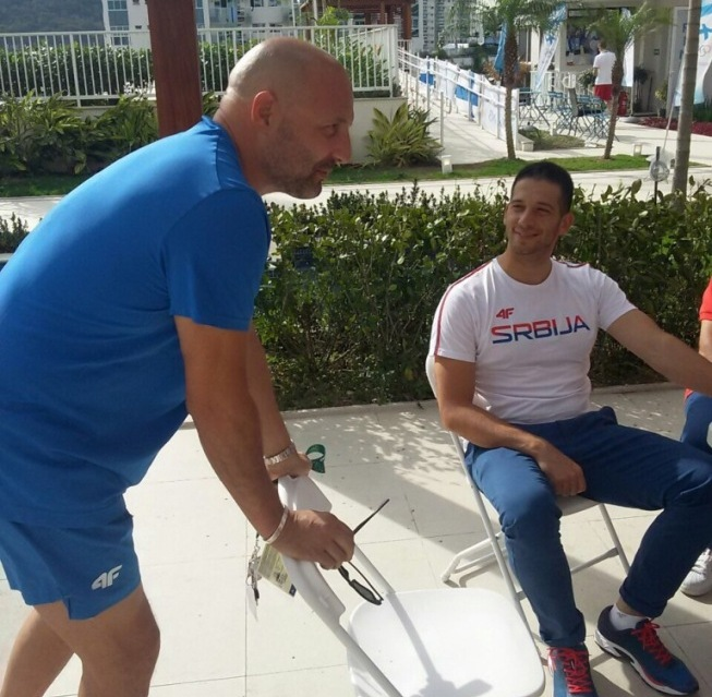 Udovičić obišao sportiste u Olimpijskom selu: Neverovatna atmosfera koja je za svaku pohvalu