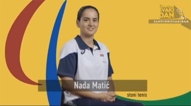 Udovičić čestitao Nadi Matić osvajanje bronze