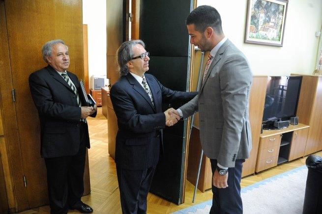 Удовичић са амбасадорима Русије и Либана