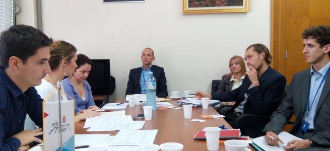 """Održan sastanak sa GIZ evaluatorima u vezi sa realizacijom projekta  """"Podsticanje zapošljavanja mladihˮ"""