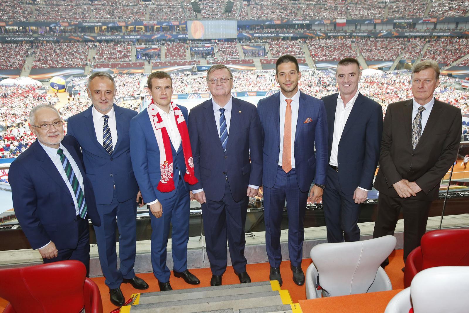 Министар Удовичић на отварању Европског првенства у одбојци у Пољској