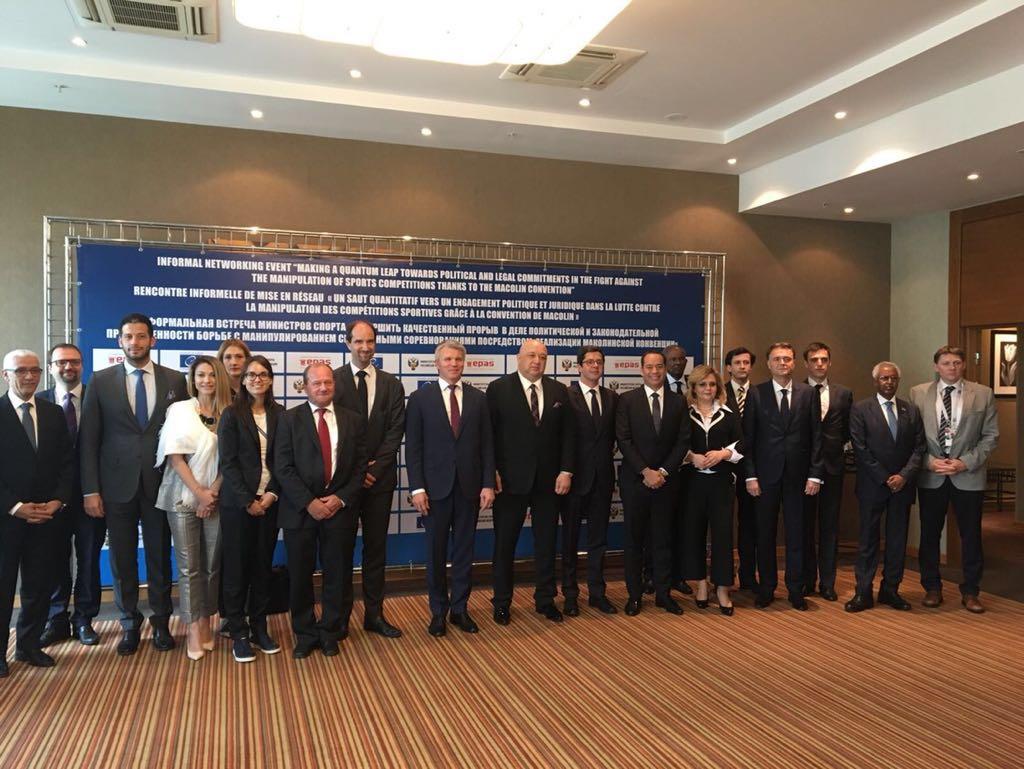 Министар Удовичић у Москви на састанку посвећеном Конвенцији Савета Европе о манипулацији спортским резултатима