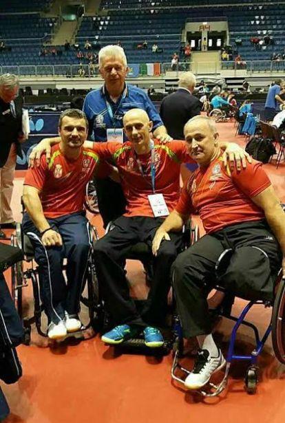 Честитка министра Удовичића мушкој екипи Србије која је освојила брозану медаљу на Екипном првенству света у стоном тенису за особе са инвалидитетом
