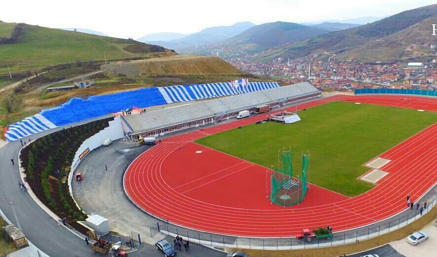 Изградња атлетског стадиона у Новом Пазару, прва фаза