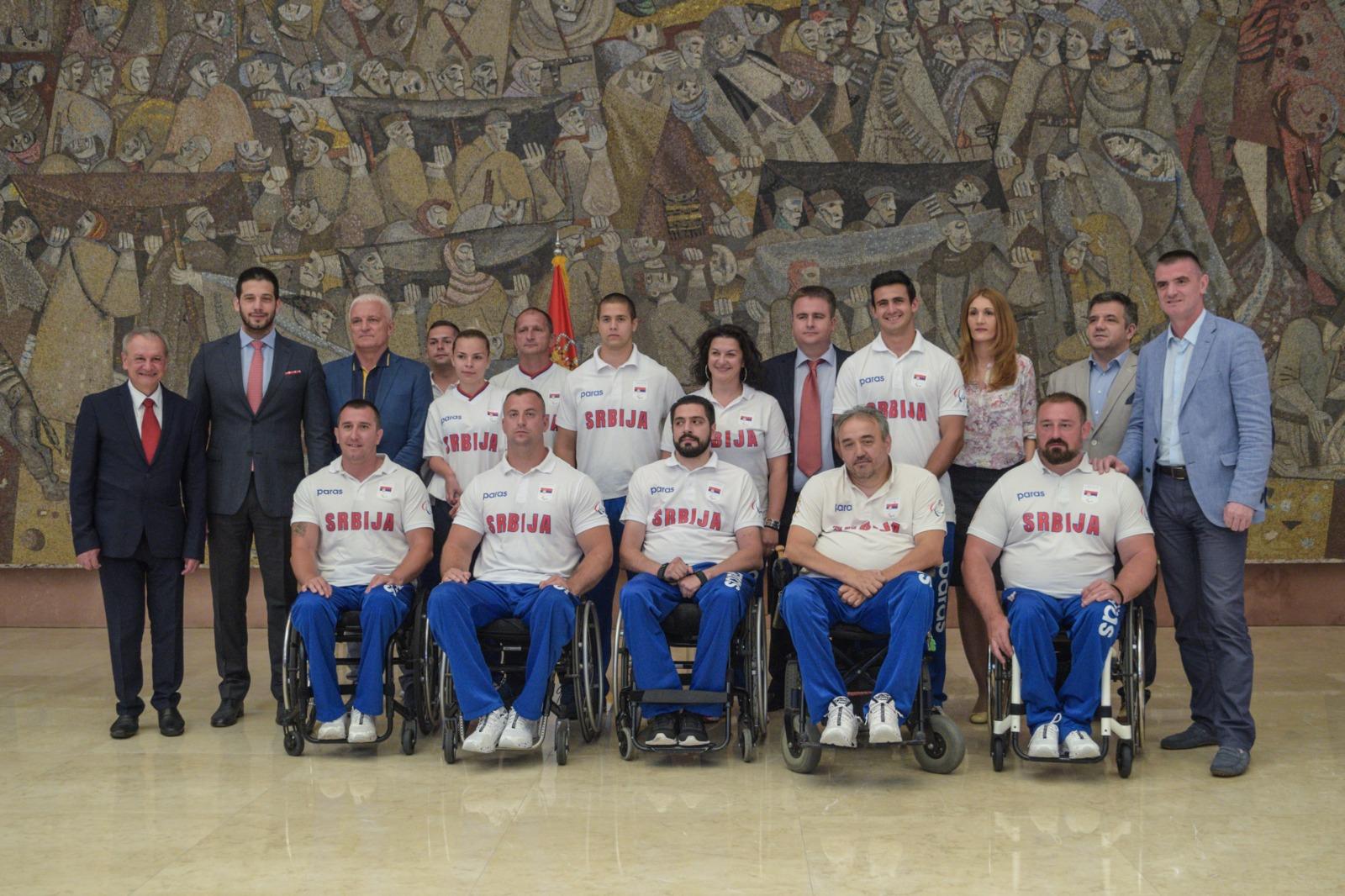 Министар Удовичић састао се са председником Европског параолимпијског комитета