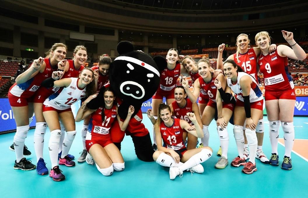 Министар Удовичић честитао одбојкашицама освајање Светског првенства