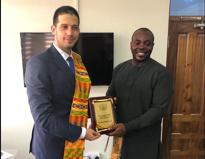 Министар омладине и спорта у посети Републици Гана