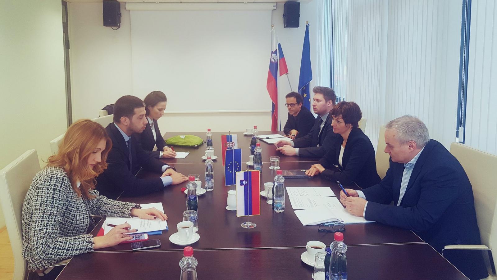 Министар Удовичић на билатералном састанку у Љубљани
