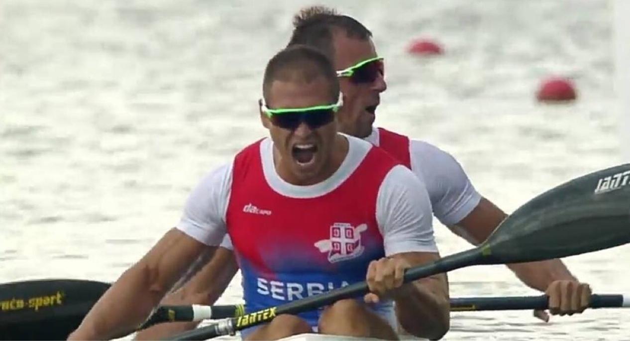 Mинистар Удовичић честитао нашим кајакашима на освојеној златној медаљи