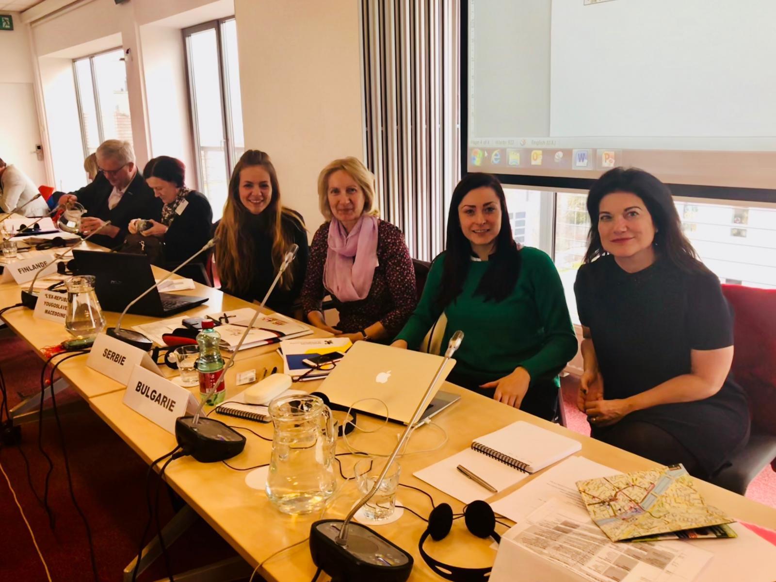 Помоћник министра Снежана Клашња на  састанку  Европског надзорног комитета за младе и Заједничког савета за младе Савета Европе