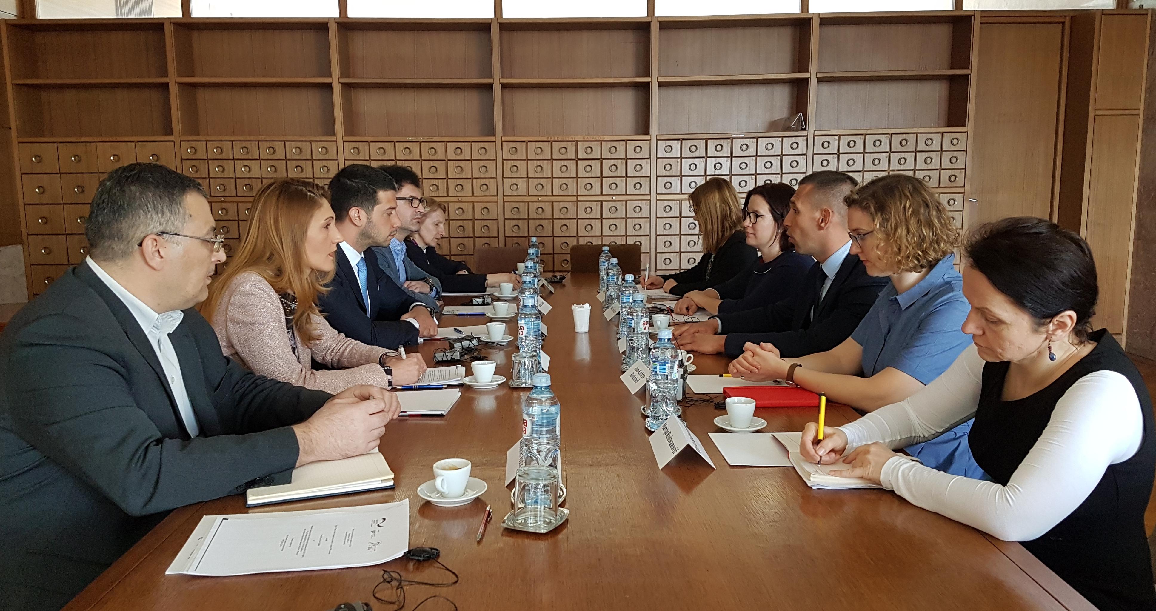 Нови пројекат Министарства омладине и спорта и ГИЗ
