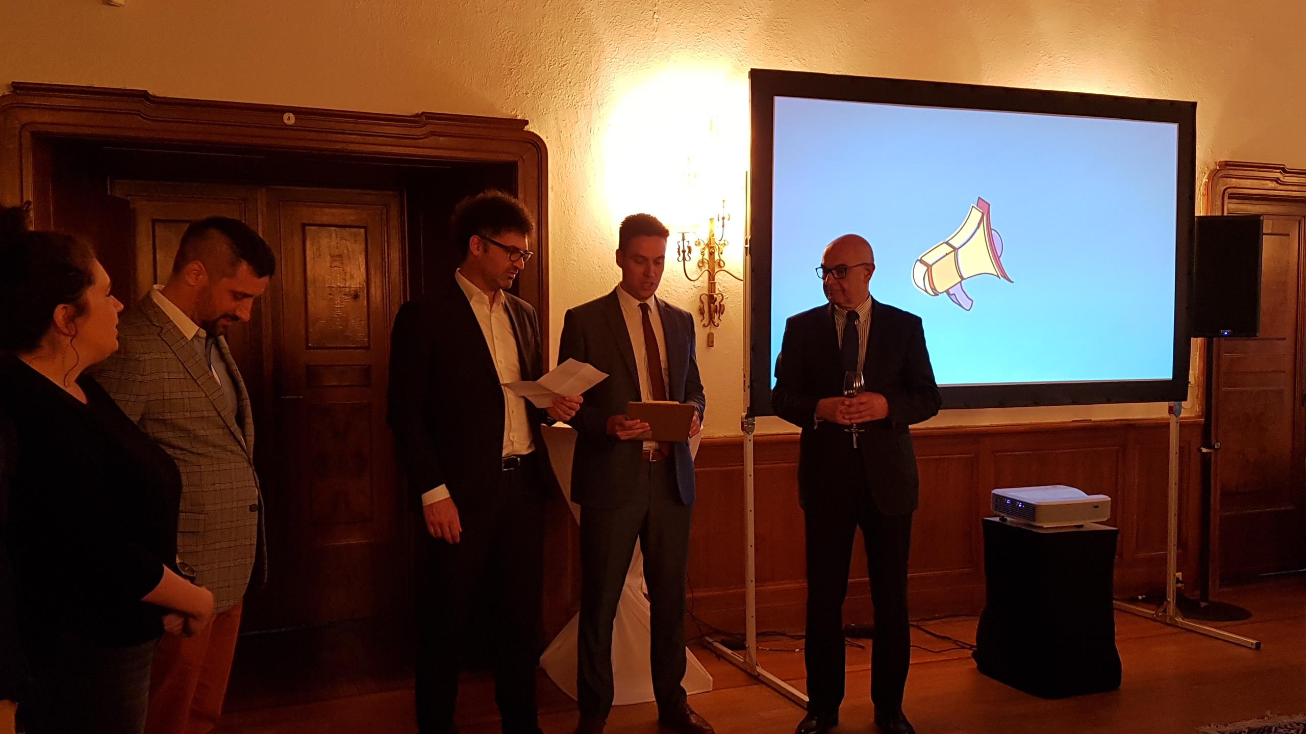 Државни секретар Станић на представљању Опенса у Берлину