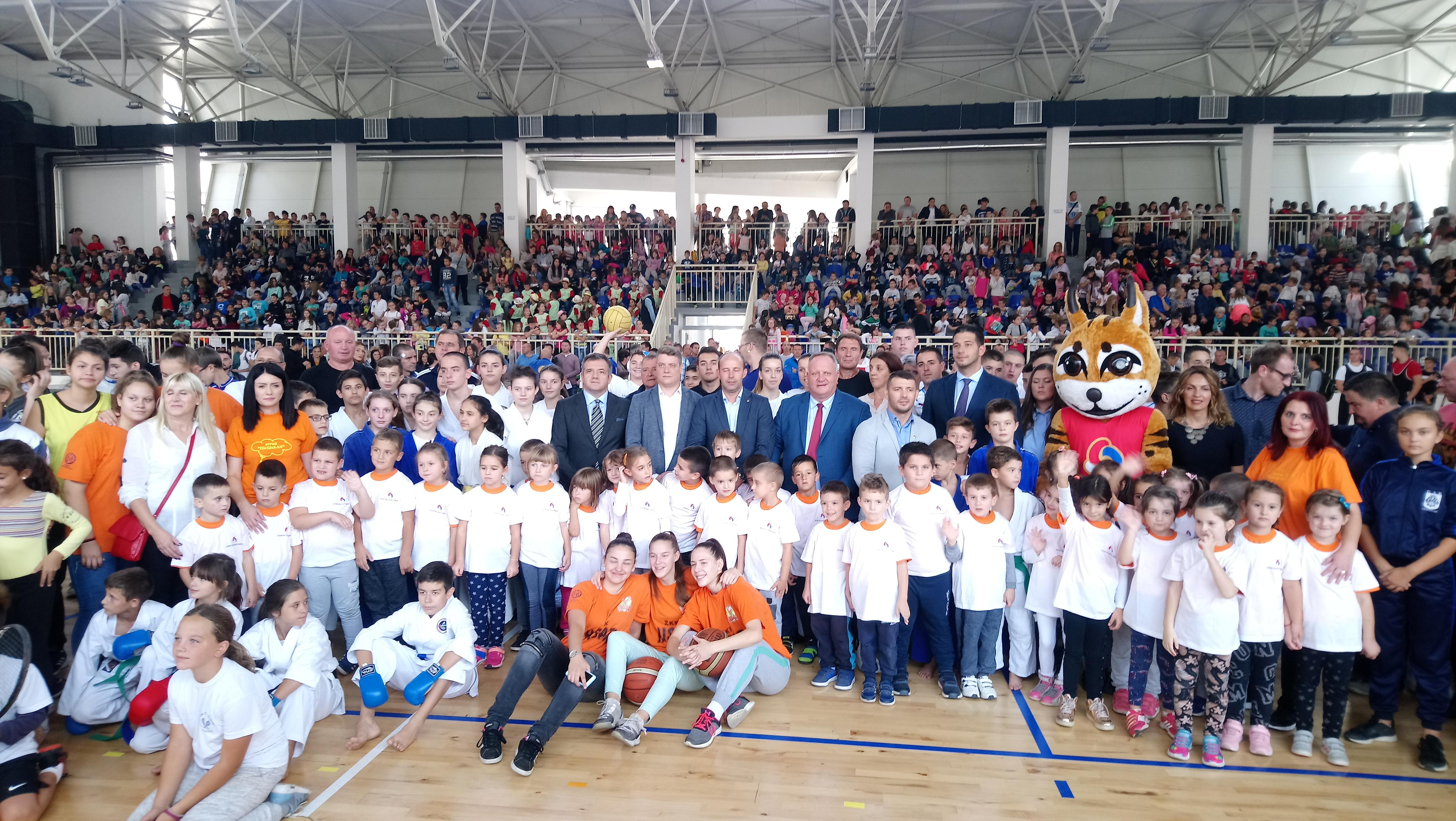 Министар Удовичић отворио сајам спорта у Лесковцу