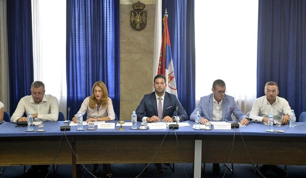 Конститутивна седница Радне групе за израду Националне стратегије развоја спорта