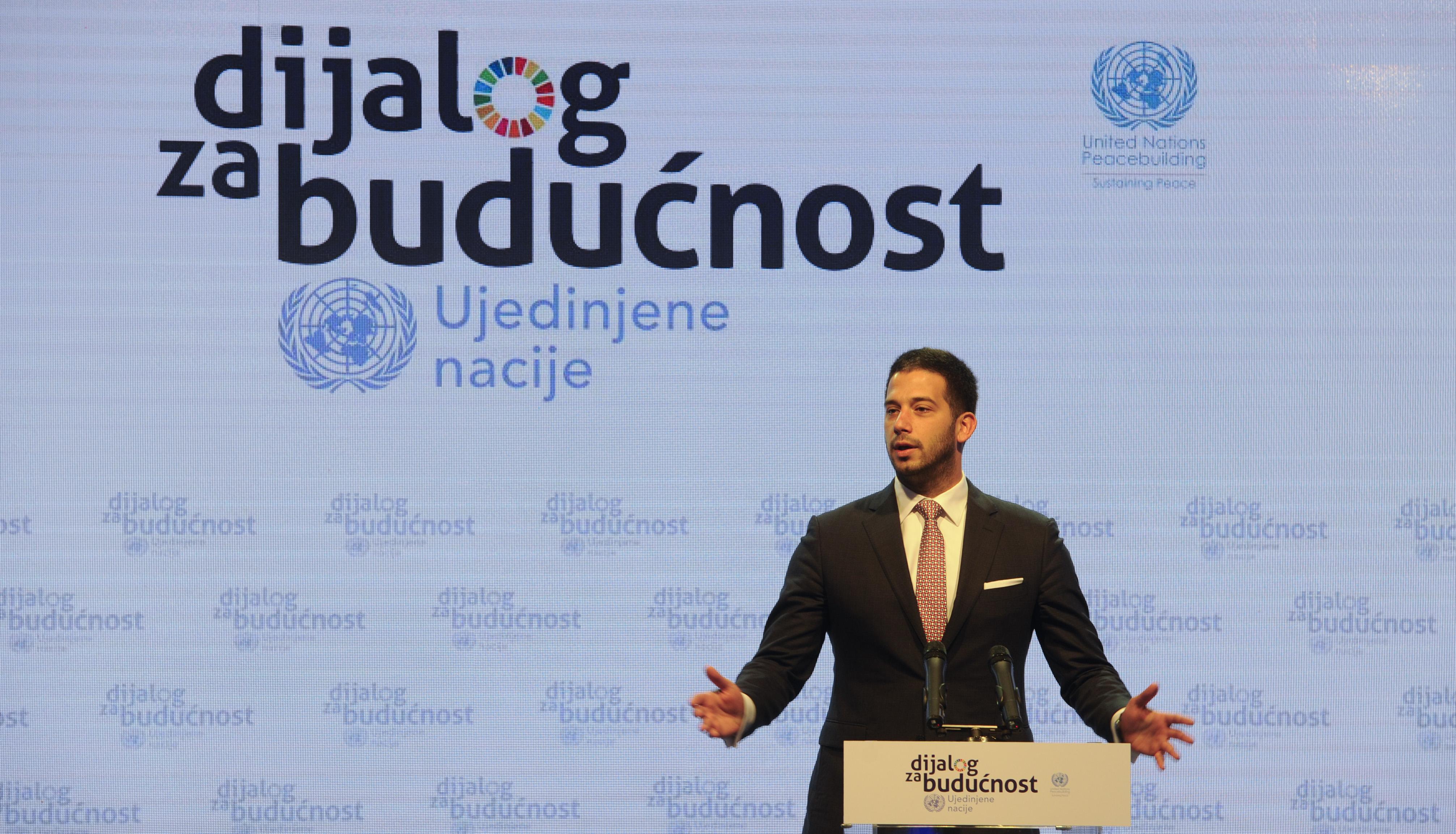 """""""Дијалог за будућност"""": За регион без предрасуда, уз поверење и стабилну сарадњу"""