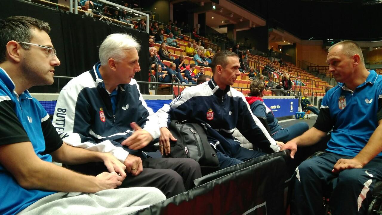 Министар Удовичић честитао освајање сребрне медаље репрезентативцима Србије у пара стоном тенису