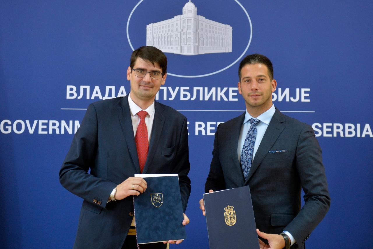 Са Словачком потписан Меморандум о разумевању у областима омладине и спорта