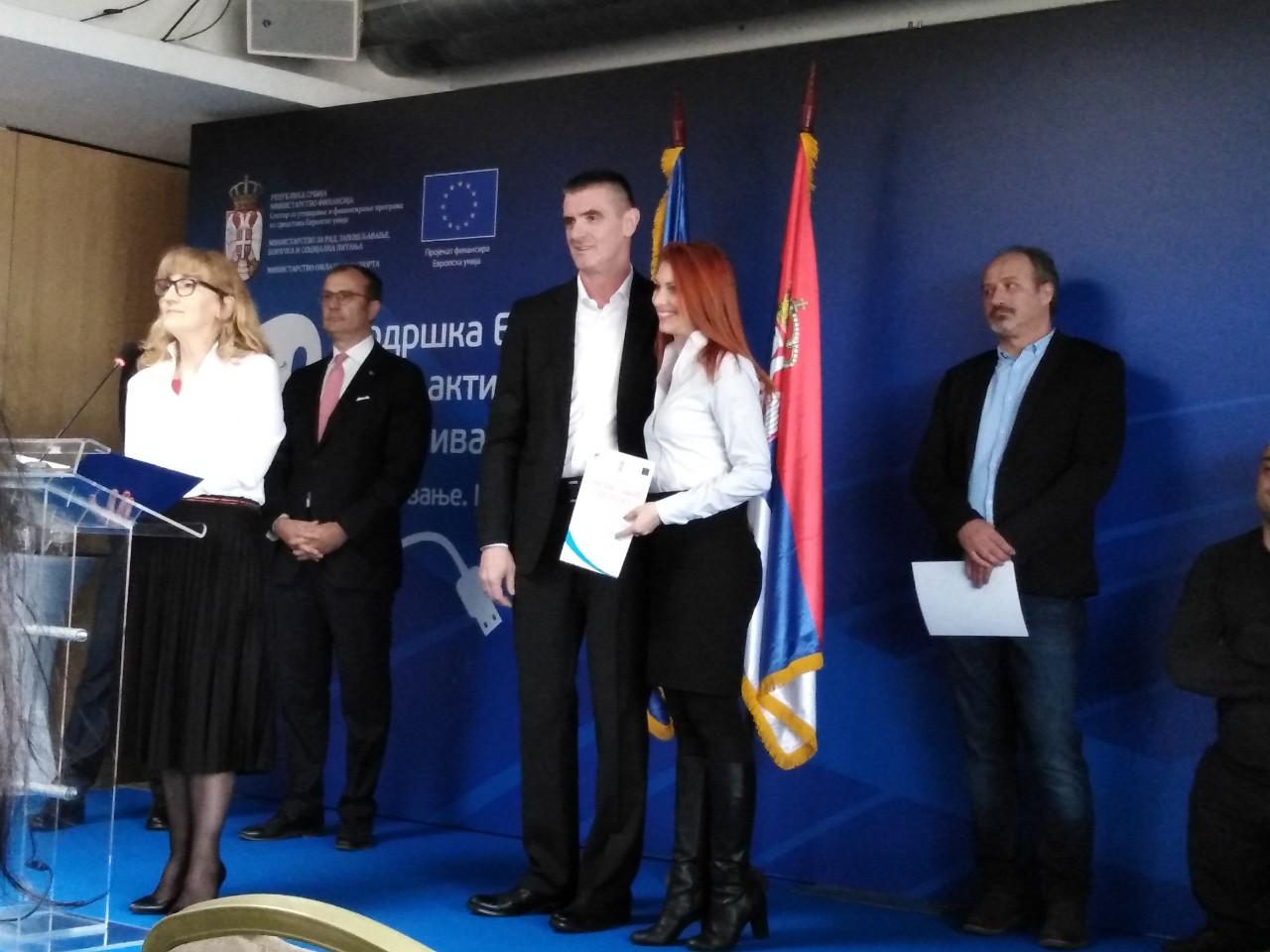 Перуничић: Србија препознала важност запошљавања младих